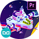Space Technology Isometric Animation | Premiere Pro MOGRT - VideoHive Item for Sale