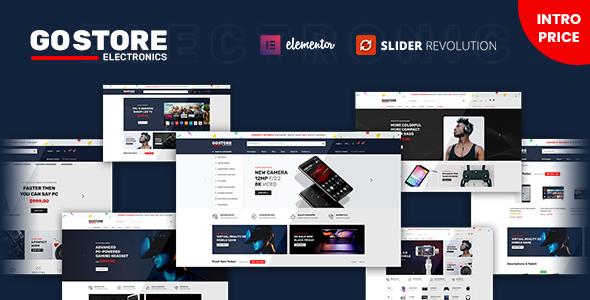 GoStore - Elementor WooCommerce WordPress Theme Nulled