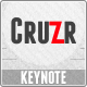 Cruzr Keynote Template - GraphicRiver Item for Sale