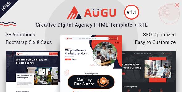 Augu - Creative Digital Agency HTML Template