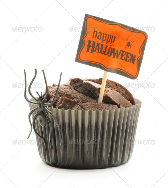 Halloween cake - Stock Photo - Images