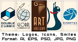 Logos, Icons, Smiles