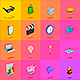 28 Animated 3D Icons - VideoHive Item for Sale