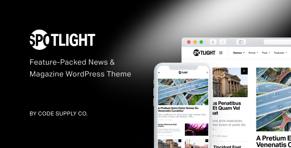 Wondrous Spotlight - Feature-Packed News & Magazine WordPress Theme