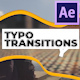 Typo Transitions - VideoHive Item for Sale