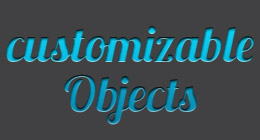 Customizable Objects