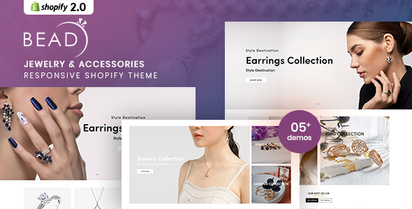 Bead - Jewelry And Accessories Responsive Shopify Theme