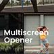 Minimal Multiscreen Opener - VideoHive Item for Sale