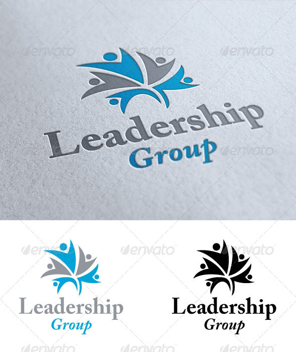 Leadership Group - Humans Logo Templates