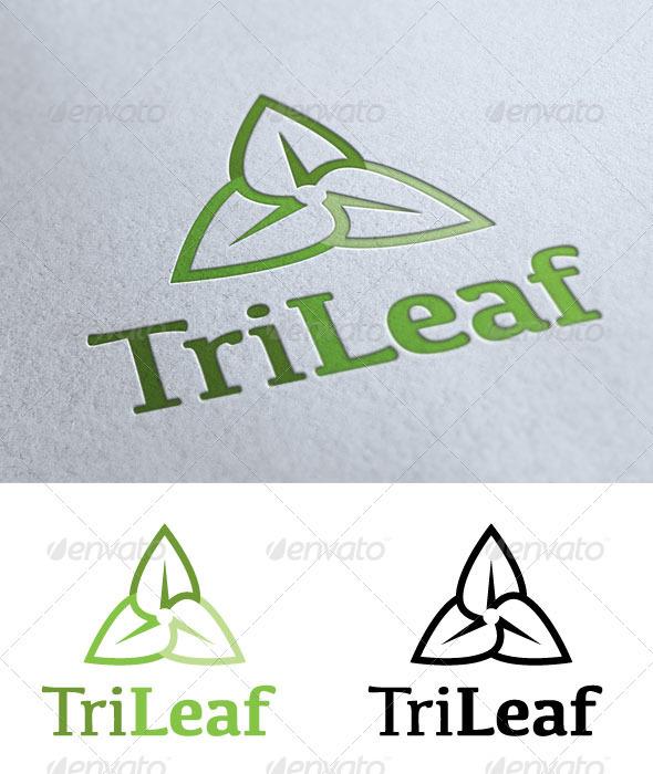 TriLeaf - Nature Logo Templates