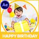 Happy Birthday Slideshow - VideoHive Item for Sale