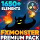 FX MONSTER - Premium Pack for Davinci Resolve - VideoHive Item for Sale