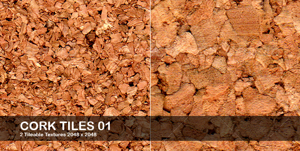 Cork Tiles - Textures
