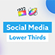 Social Media Lower Thirds for FCP X - VideoHive Item for Sale