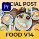 Food Social Post Mogrt 14 - VideoHive Item for Sale