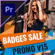Badges Sale Promo Mogrt 15 - VideoHive Item for Sale