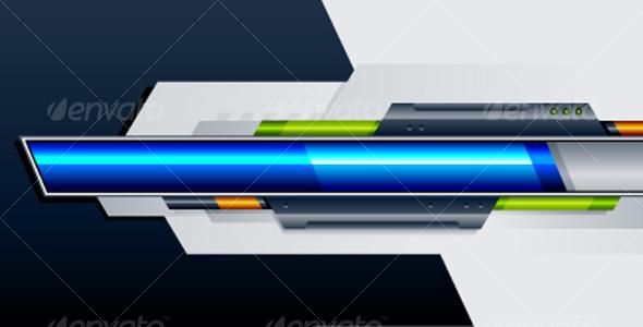 Set of progress indicators - Technology Conceptual