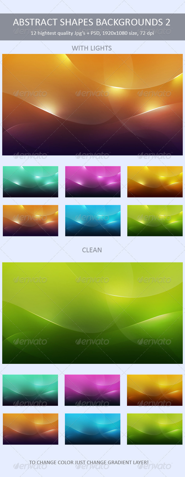 Abstract Shapes Backgrounds 2 - Backgrounds Graphics