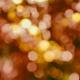 Orange bokeh with christmas lights - PhotoDune Item for Sale