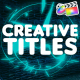 Creative Titles | FCPX - VideoHive Item for Sale