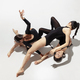 The group of modern dancers, art contemp dance, black and white, combination of emotions - PhotoDune Item for Sale
