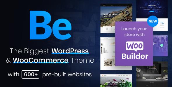 Betheme | Responsive Multipurpose WordPress & WooCommerce Theme Nulled