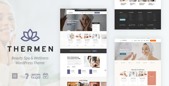 Excellent Thermen - Beauty Spa & Wellness Center WordPress Theme