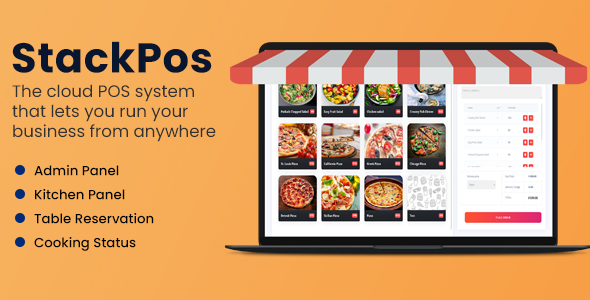 Download StackPos – Point Of Sale Script for Restaurants Free Nulled