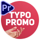 Typography Promo - Dynamic Template - VideoHive Item for Sale