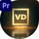 Vertical Impact Logo Drop - VideoHive Item for Sale