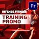 Intense Fitness Training Promo | Mogrt - VideoHive Item for Sale