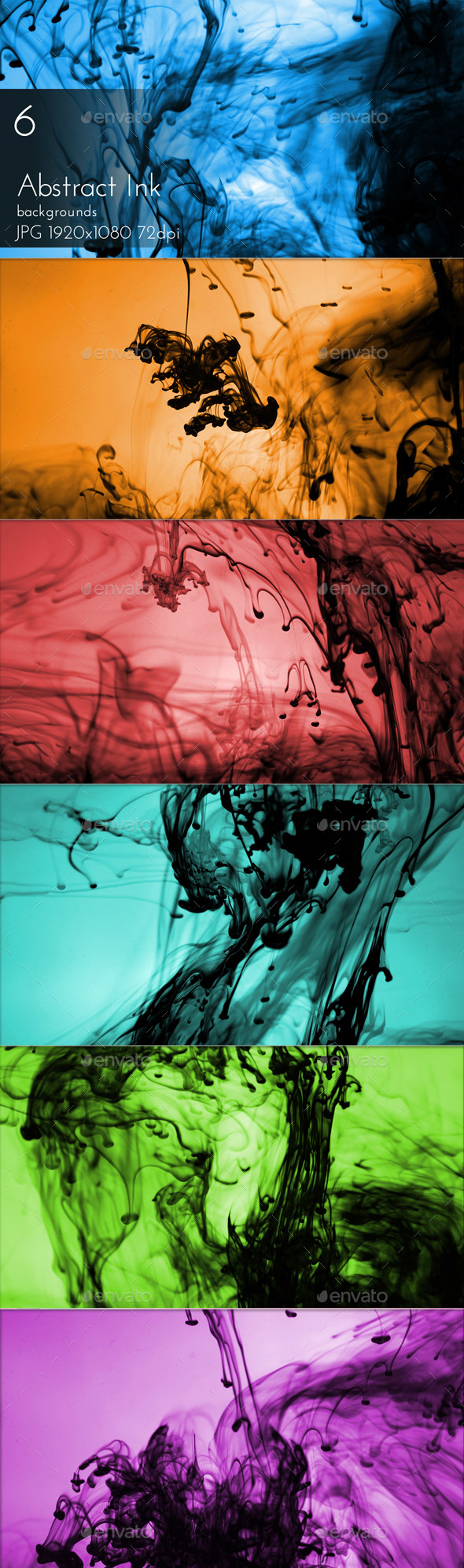 Abstract Ink Background