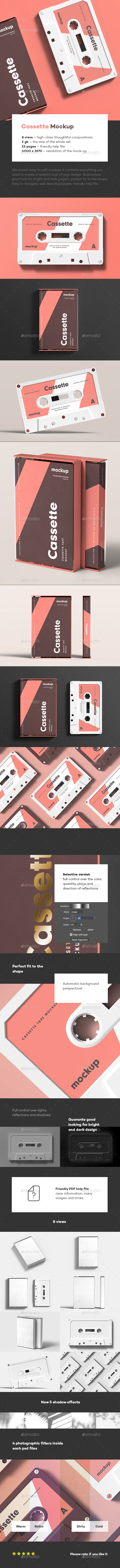 Cassette Mock-up