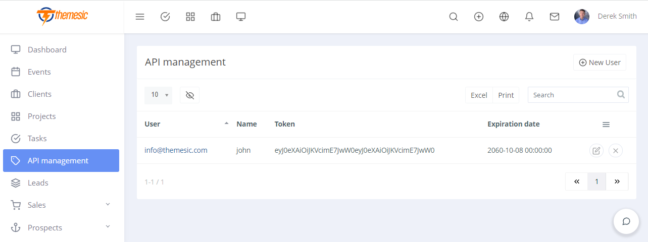 REST API plugin for RISE CRM - Connect RISE with third party applications - 2