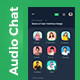 Clubhouse Audio Chat App UI | Clubroom