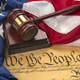 Constitution, American Flag and Gavel - PhotoDune Item for Sale