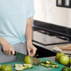 Cutting Apple For Smoothie In The Kitchen - PhotoDune Item for Sale