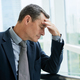 Exhausted Mature Businessman At Office - PhotoDune Item for Sale