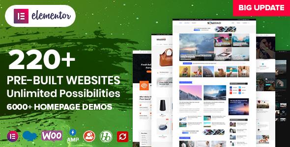 Soledad - Multipurpose Blog/Magazine & WooCommerce WordPress Theme Nulled