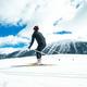 Woman practicing Nordic skiing - PhotoDune Item for Sale