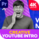 Creative YouTube Intro (MOGRT) - VideoHive Item for Sale