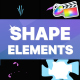 Shapes Elements | FCPX - VideoHive Item for Sale
