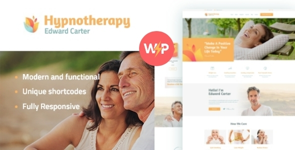 Hypnotherapy and Psychologist Therapy WordPress Theme