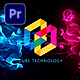 Flowing Particles Explosion Logo_Premiere Mogrt - VideoHive Item for Sale