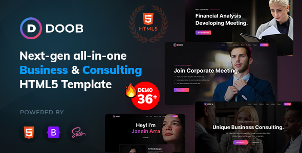 Doob - Business & Consulting Bootstrap 5 Template