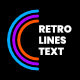 Retro Lines Text Lower Thirds - VideoHive Item for Sale