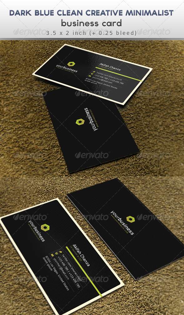 Simple Creative Minimalist Business Card - Creative Business Cards