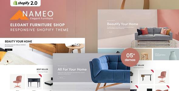 Nameo - Elegant Furniture Shop For Shopify