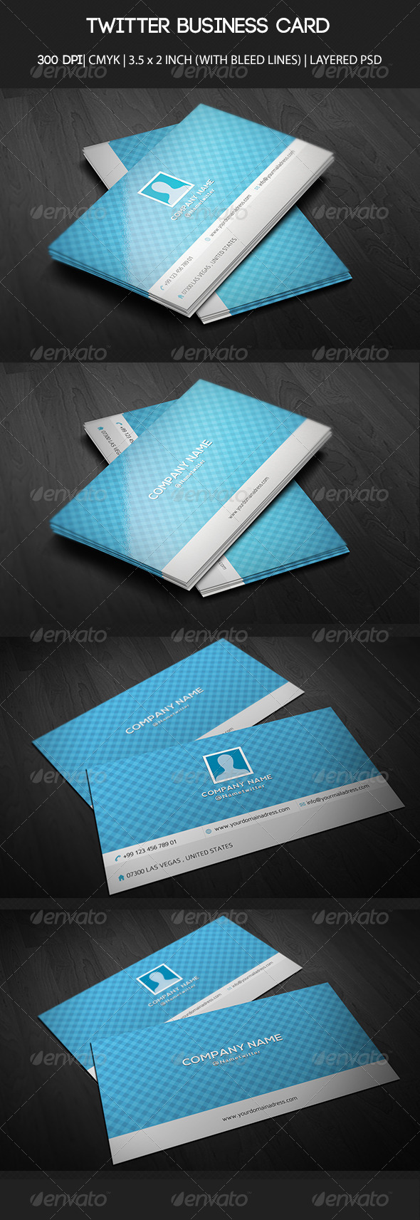 Twitter Business Card - Creative Business Cards