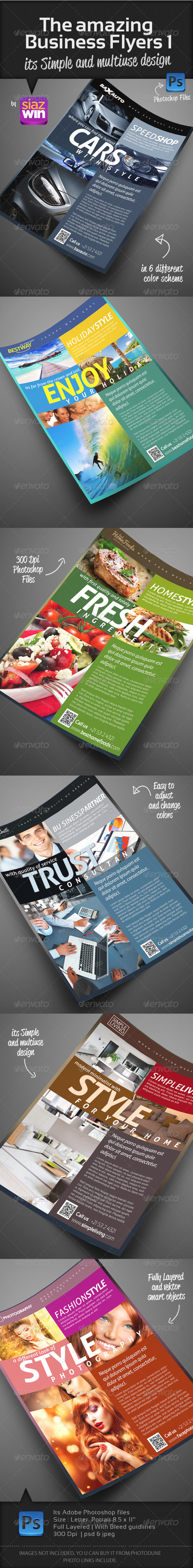 The Amazing Business Flyers 1 - Corporate Flyers
